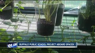 Buffalo school students experiment aboard SpaceX