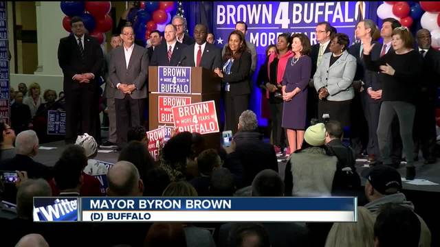 Mayor Brown running for fourth term