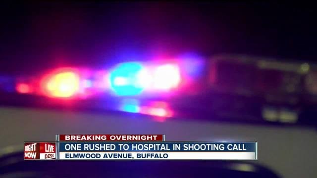 One rushed to ECMC after shooting call