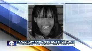 Community remembers India Cummings