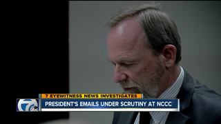 President's emails under scrutiny at NCCC