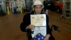 Buffalo man finally honored for war service