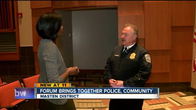 Forum brings together police- community