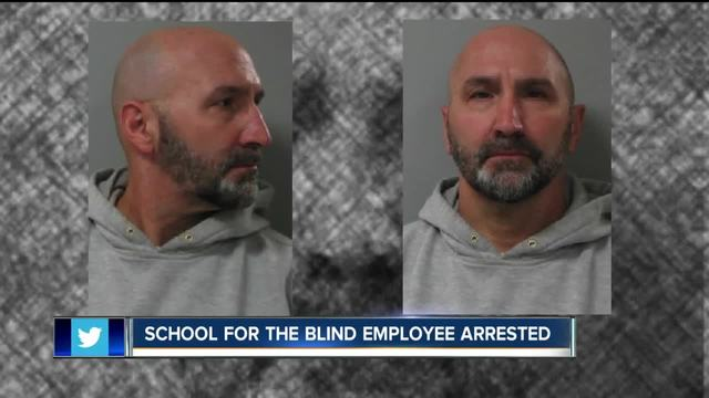 Employee at School for the Blind arrested for harassing students