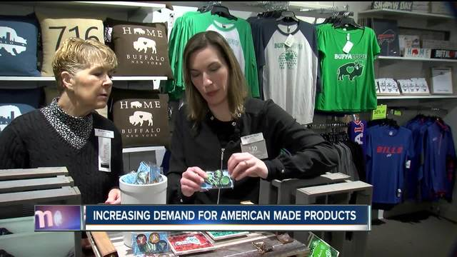 Stores benefitting from buy American attitude