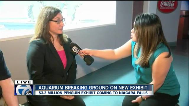 Aquarium of Niagara breaking ground on new exhibit