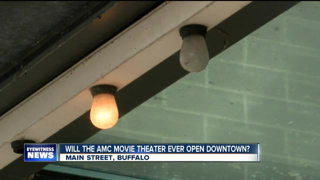 Will the AMC movie theater ever open downtown-