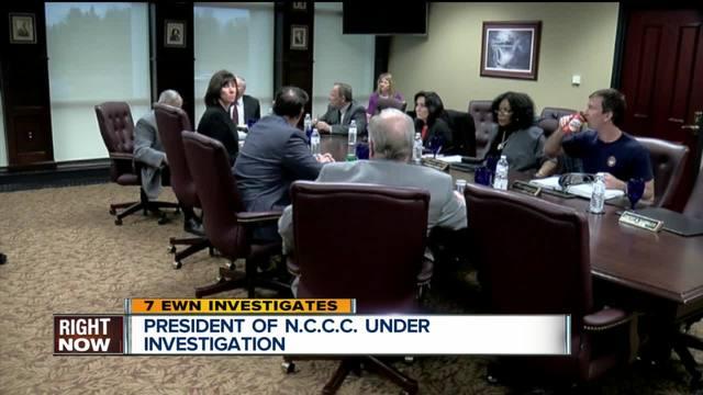 FBI probe in NCCC president