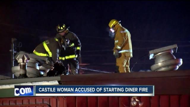 Owner accused of setting Castile restaurant fire