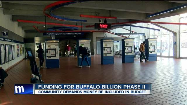 Community demands funding for phase two of Buffalo Billion project