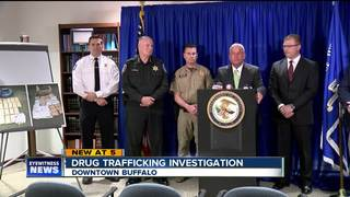 Major drug trafficking arrest in Buffalo