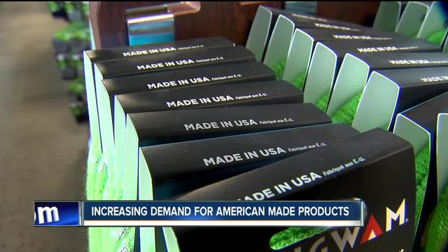 Demand for Made in America products