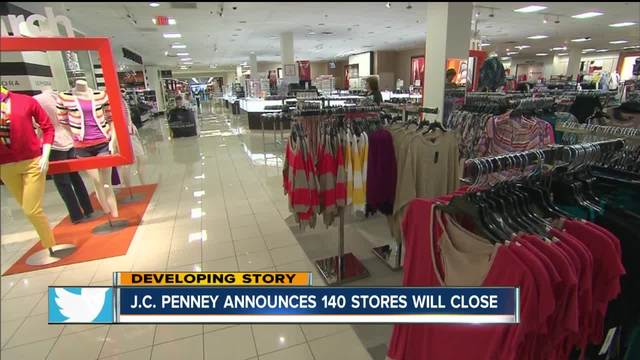 JCPenney closing up to 140 stores nationwide