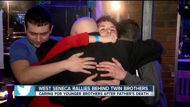 West Seneca rallies behind twin brothers
