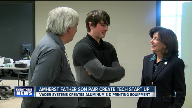 Amherst Father Son pair create tech start up