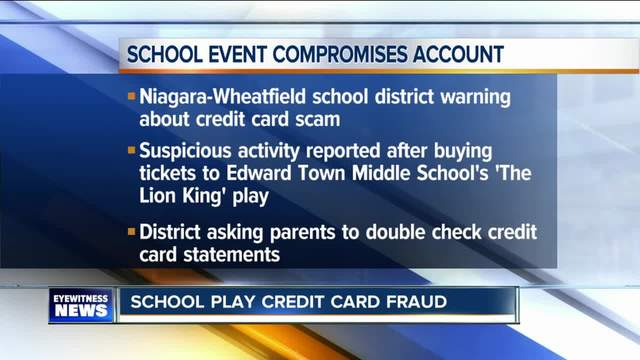 Credit card information compromised on ticketing site
