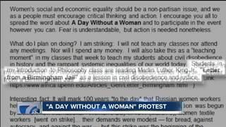 Professors plan to participate in women's strike
