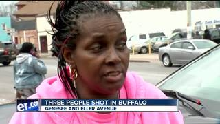 Three shot in Buffalo Monday afternoon