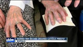 Married men could soon become priests
