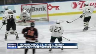 Netminder Jake Zurat lifts North to title game