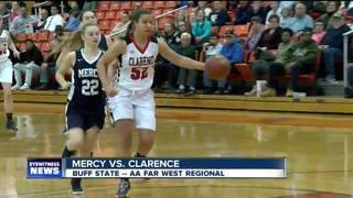 Clarence & Amherst fall in Far West Regionals