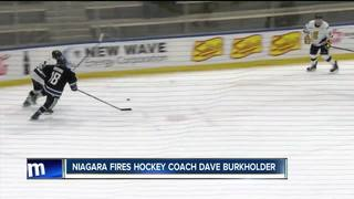 Dave Burkholder out as Niagara hockey head coach