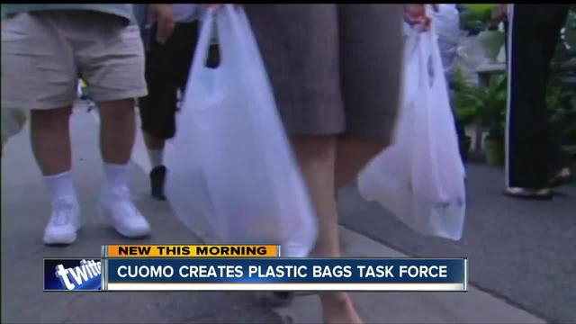 Gov. Cuomo launches plastic bag task force