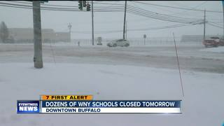 Dozens of Western New York schools close
