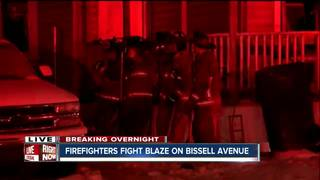 Firefighters work two overnight Buffalo fires