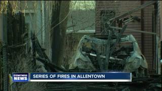 Suspicious fires in Allentown