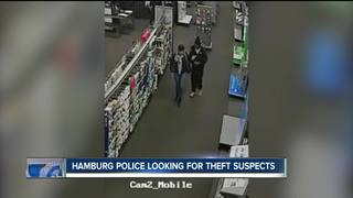 Suspects sought in connection to Best Buy theft