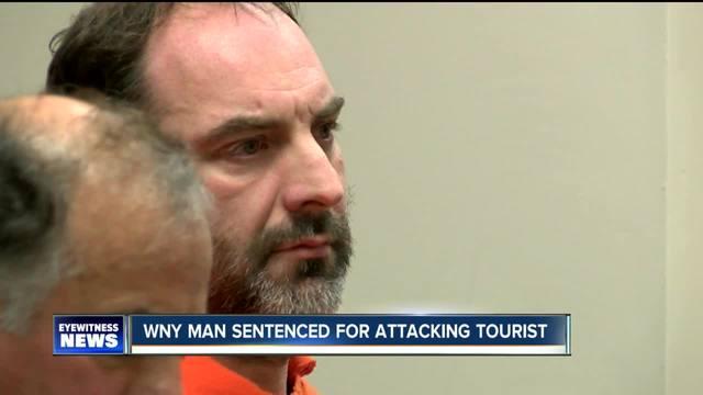 N- Falls man sentenced 22 years for attacking Japanese tourist