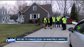 Neighbors want quicker investigation of old dump