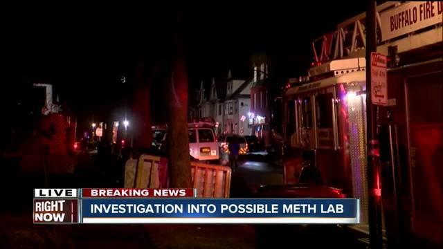 Buffalo firefighters investigate possible meth lab in Elmwood Village