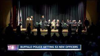 53 new police officers will help Buffalo