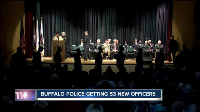 Police graduation means new officers for Buffalo