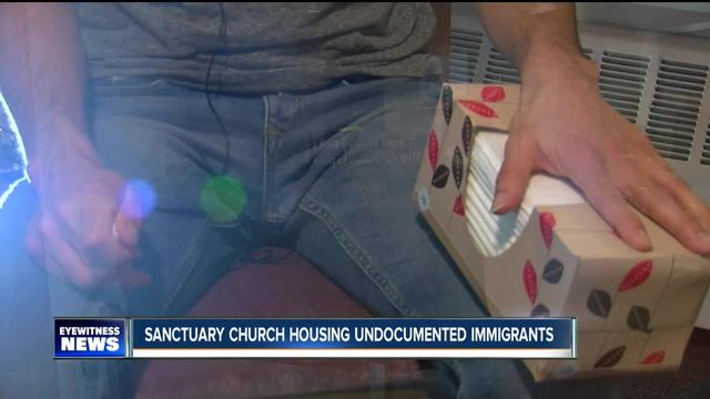 Sanctuary church housing undocumented immigrants
