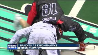 Bandits fall to Knighthawks 11-10