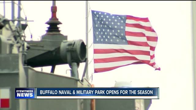 The Buffalo and Erie County Naval and Military Park kicks off 2017 season