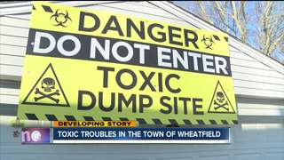 Neighbors near dump file suit against Wheatfield