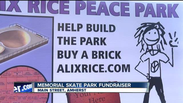 Alix Rice Peace Park Fundraiser