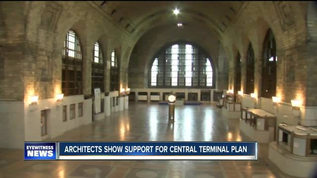 Architects support Central Terminal development