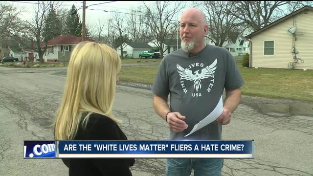-White lives matter- fliers not criminal