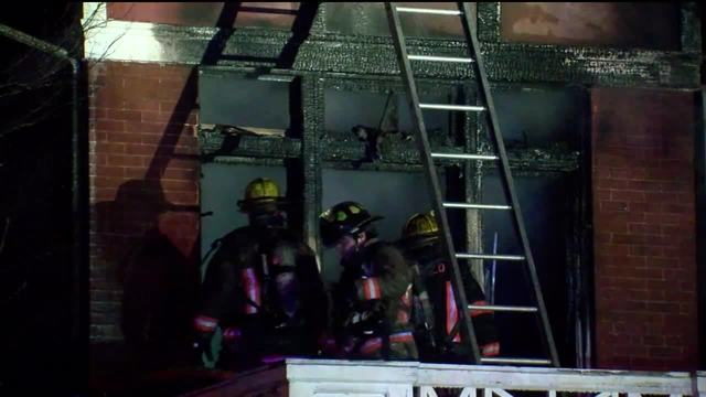Historic home catches fire in Buffalo