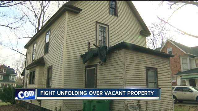 Fight unfolding over vacant property