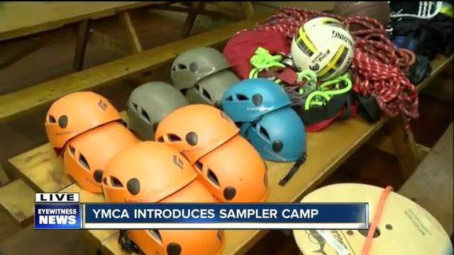 YMCA pilots new -Sampler Camp- 2