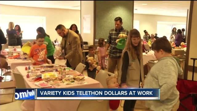 Stones Buddies- Variety Kids Telethon dollars at work