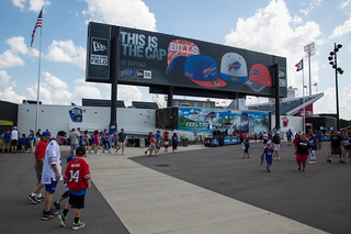 Terry Pegula downplays new stadium talk