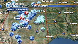 Dozens of twisters spotted