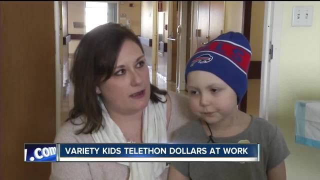 Bella-s story- Variety Kids Telethon dollars at work